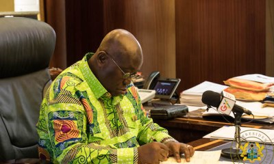President Akufo-Addo Refunds GH¢237,000 Salary Increment Given Him From January to August
