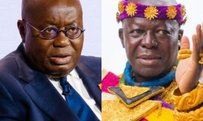 The Truth Hurts: Akufo-Addo Not Happy After Hearing This Message From Otumfour Osei Tutu II