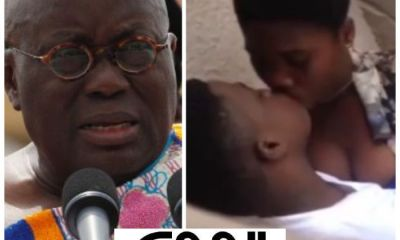 Akufo Addo's Free SHS Students Caught Making Love In Classroom After Their Final WASSCE Paper (18+ Video)