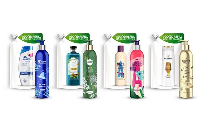 Now P&G Beauty Launches Refill System