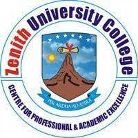 Zenith University College Admission List