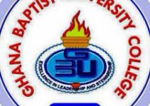 Ghana Baptist University College Cut Off Points