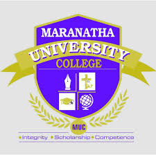 Maranatha University College Admission Form
