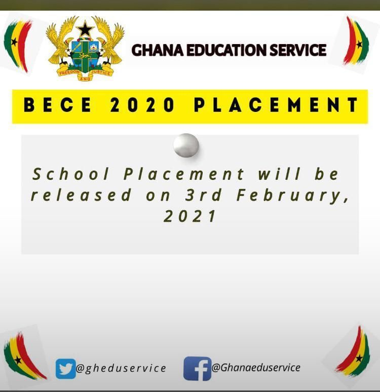 2020 BECE School Placement