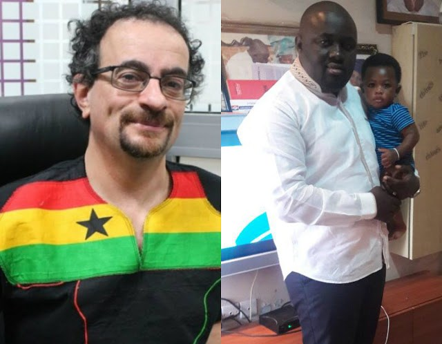 Jon Benjamin (left) and Kassim Bamba (right)