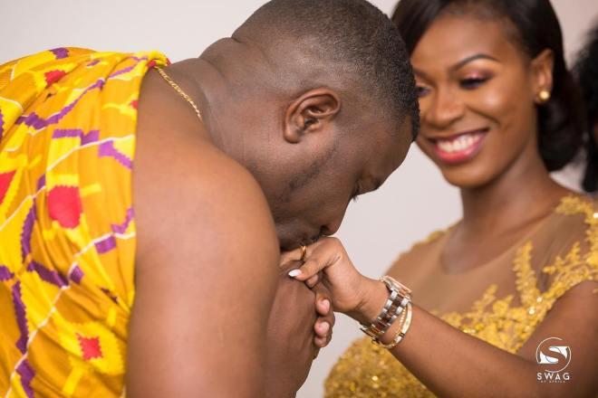 John Dumelo and Gifty Mawunya
