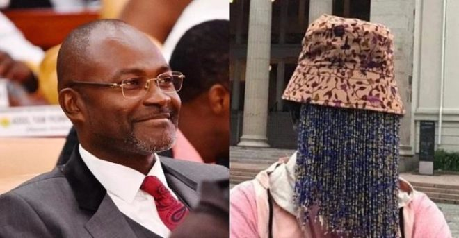 Hon. Kennedy Agyapong and Anas Aremeyaw Anas