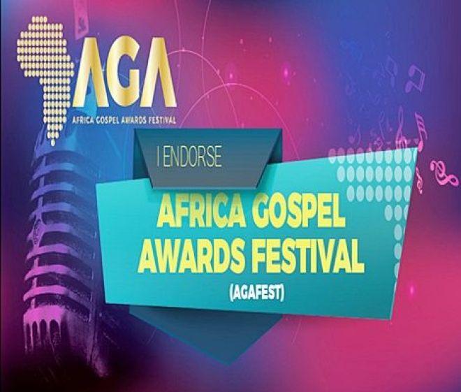 Africa Gospel Awards Festival logo