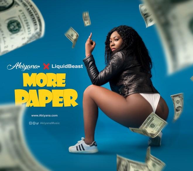 """Akiyana's """"More Paper"""" cover artwork"""