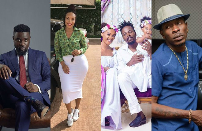 Sarkodie, Joselyn Dumas, Kwaw Kese and Shatta Wale