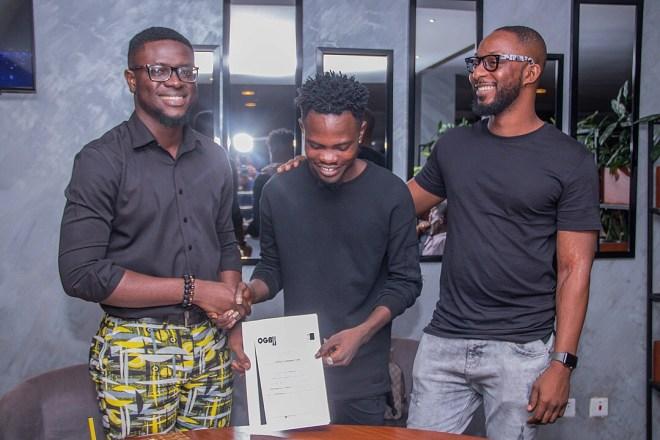 Rapper Ogidi Brown's OGB Music seals GHC 250k label deal with Fameye
