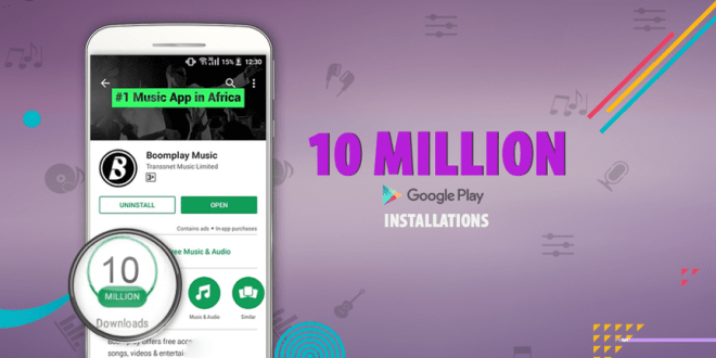 Boomplay app claws its way to 10 million downloads on Google Play Store with 29 million user base