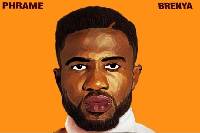 """Phrame's cover artwork for """"Brenya"""" album"""