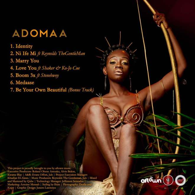 Adomaa EP Cover artwork