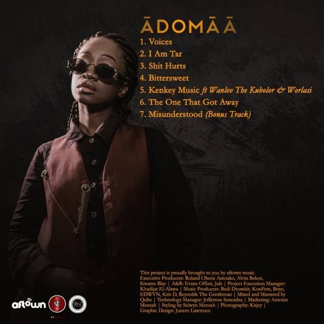 "Adomaa drops second EP off ""Adomaa Vs Ādomāā"""