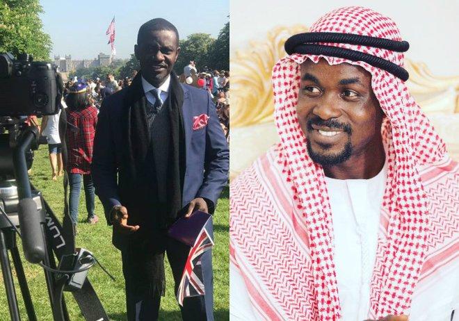 Israel Laryea and Nana Appiah Mensah