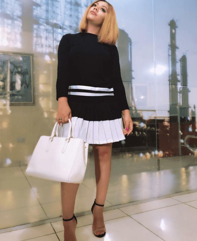 Nadia Buari serving simple fine chic style
