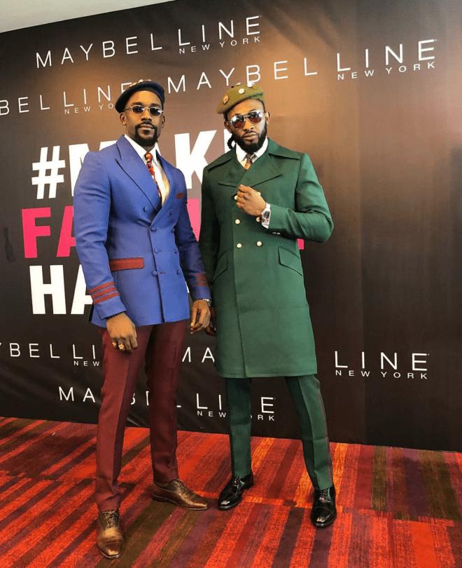 Mawuli Gavor and Siruti at Glitz Africa fashion week