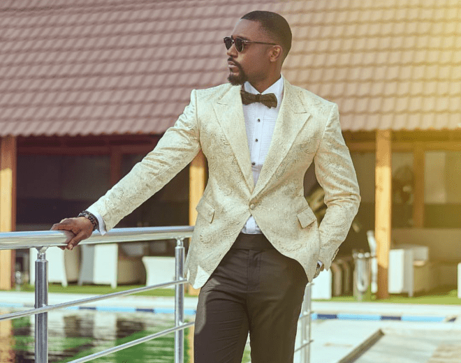 Mawuli Gavor serving suit style