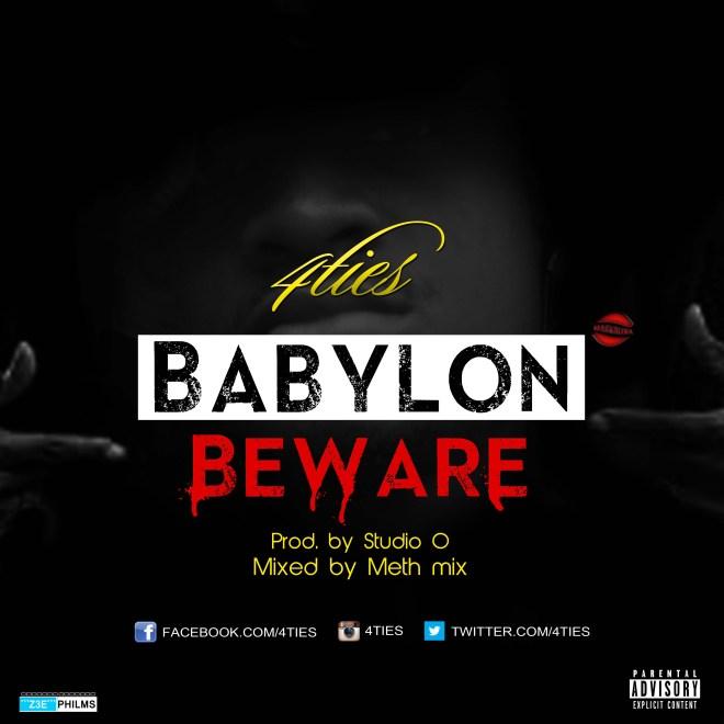 4ties - Babylon Beware
