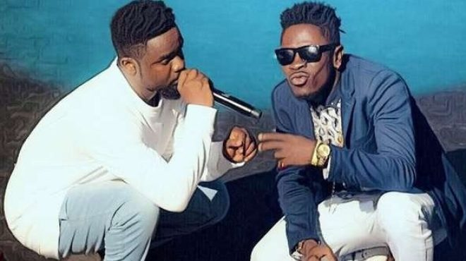 Shatta Wale and Sarkodie
