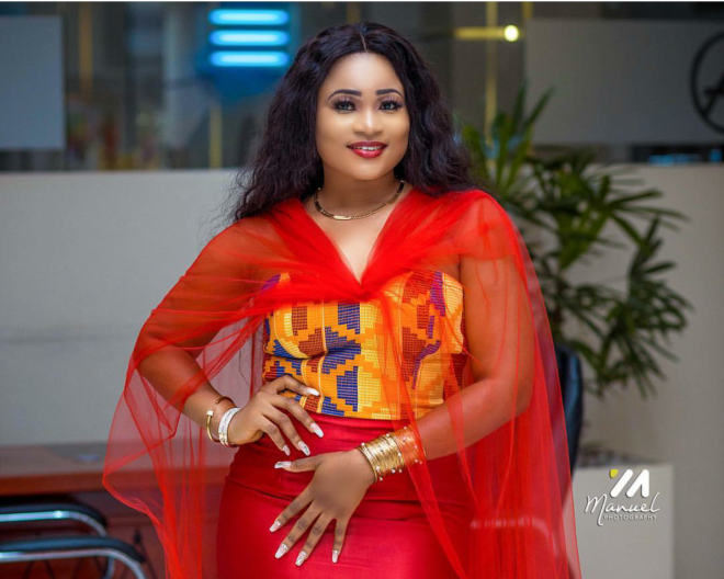 Christabel Ekeh looking super gorgeous and serving style