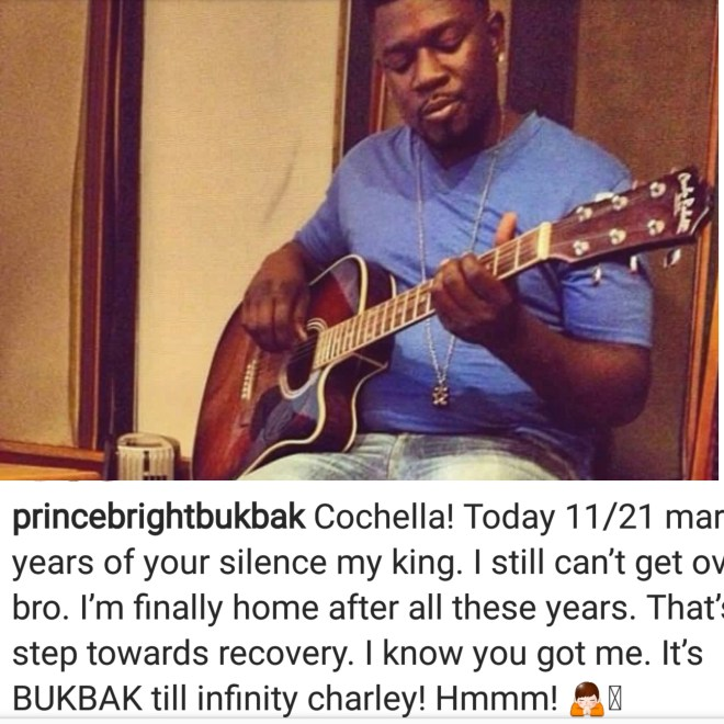 Bright remembers the death of his late partner Ronnie