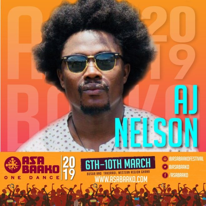 A cruise at Asa Baako 2019 with rapper AJ Nelson