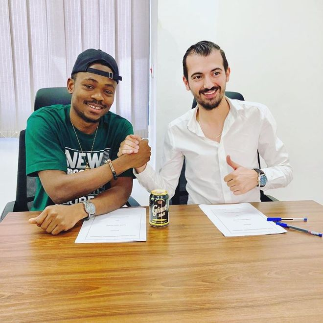 Maccasio seals two-year ambassadorial deal with Giant Malt