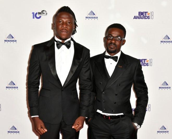 Nana Appiah Mensah and Stonebwoy