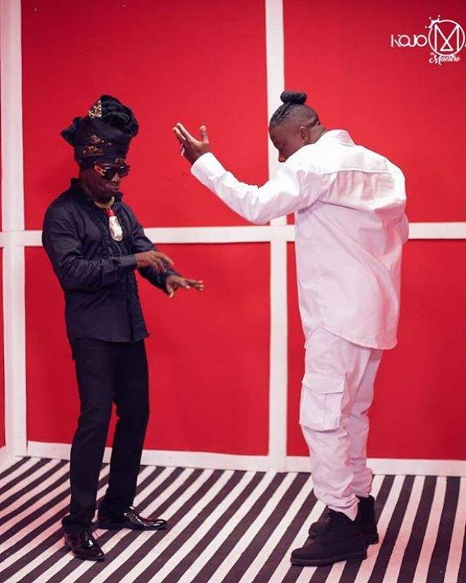 Stonebwoy and Kojo Antwi