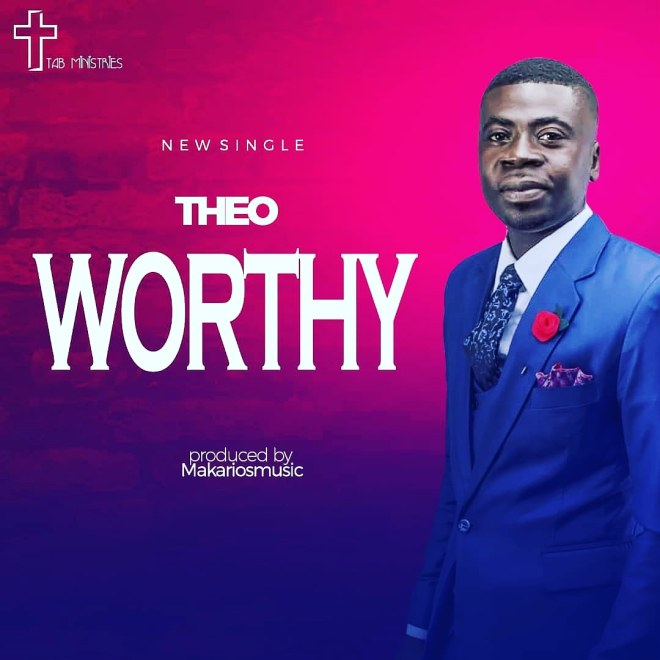 "Theo's ""Worthy"" cover artwork"