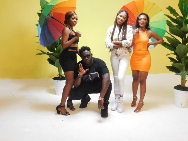 Eazzy and Medikal in Away music video