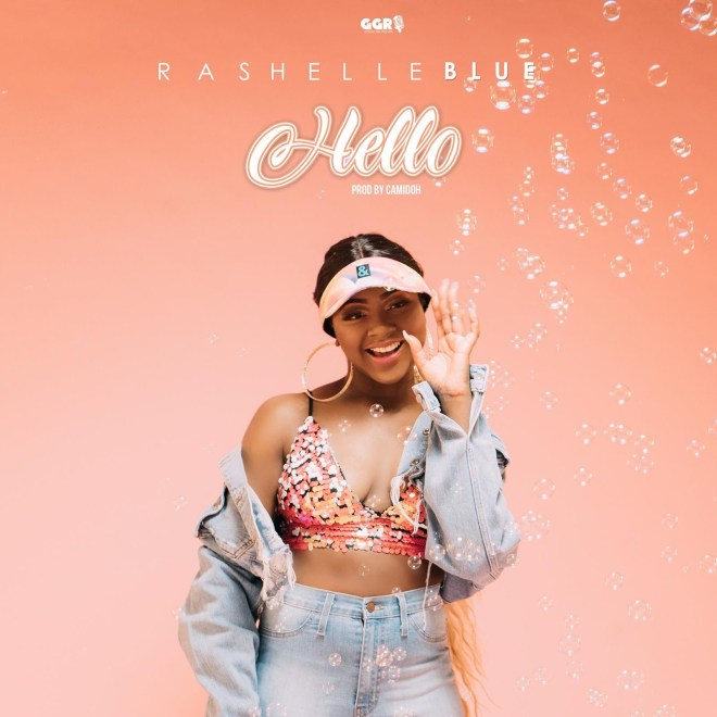 "Rashelle Blue ""Hello"" cover art"