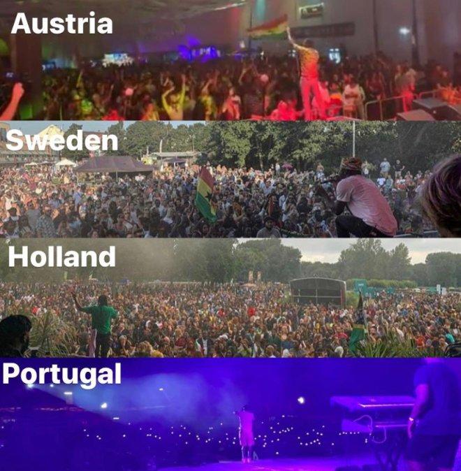 Stonebwoy on his Europe tour