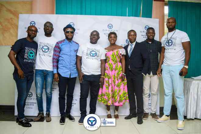 Ghana's premier ride-hailing service Dropyn launched in Accra