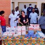 LADMA receive GHC20,000 worth of PPE from Living Streams International