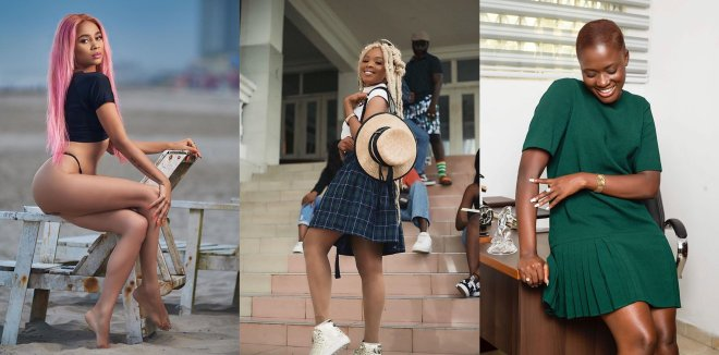 "Sister Derby hits hard at Fella Makafui on Enam's song ""Talk to Your Boyfriend"" (WATCH)"