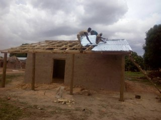 Roof in time for the rainy season