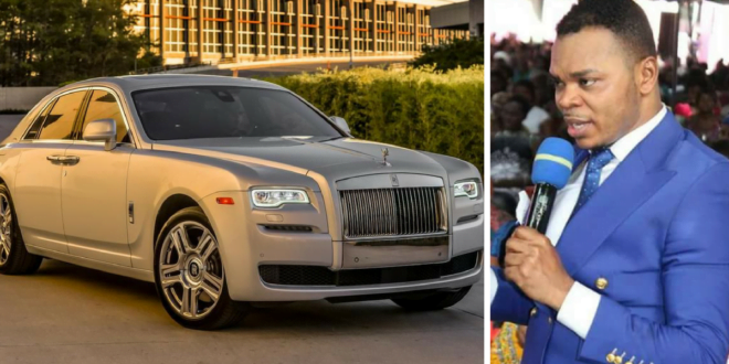 Obinim Buys A New Rolls Royce Ghost Series 2 Worth More Than $300,000 (Video)