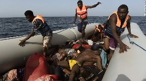 At least 14 dead on refugee boat off Libya - Official