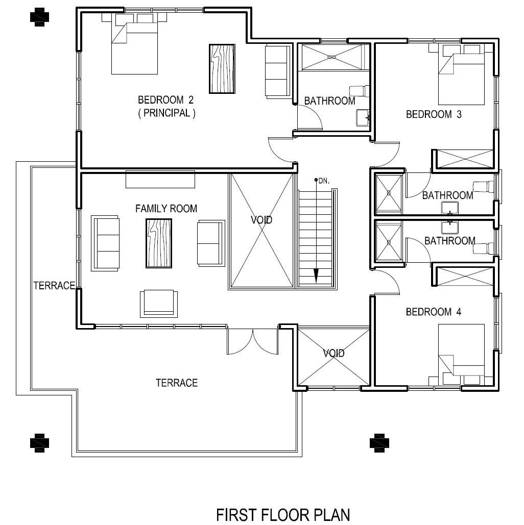 Ghana House Plans Adzo House Plan