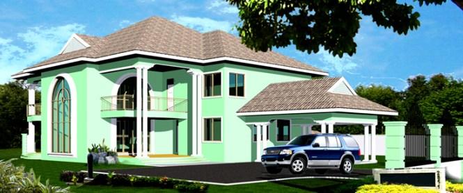 Nigerian House Plans   Amazing House Plans