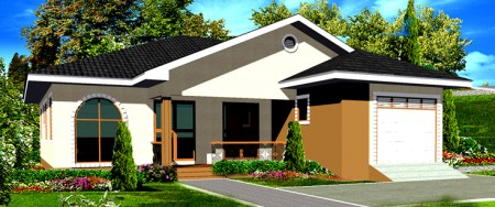 Small Home Floor Plans for Ghana  Liberia  Nigeria  Cameroon Small Home Floor Plans three