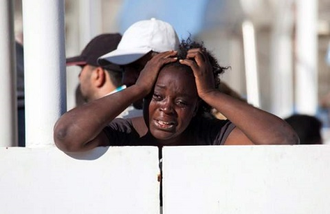 'Nigerian' women drown in Mediterranean