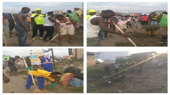 Okaikoi South Muslims Cleans Environment