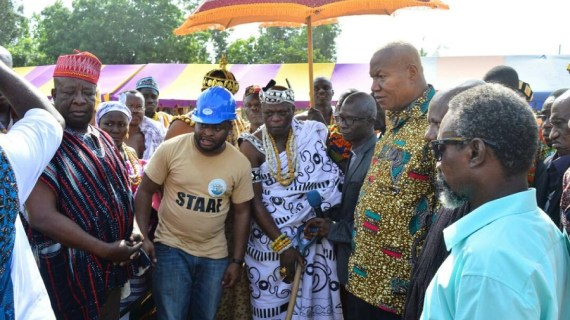 Joshua Alabi Whips Up Enthusiasm in NDC Volta Regional Enclave
