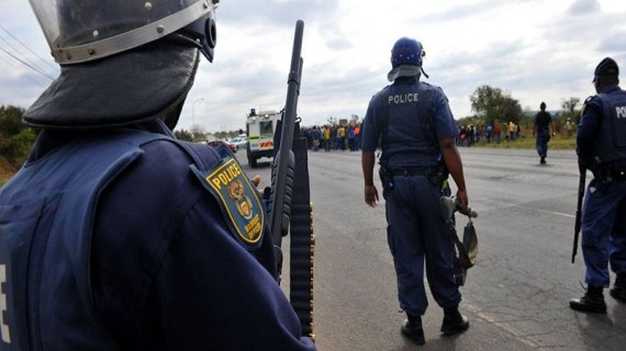 South Africa police station raid: Seven suspects shot dead