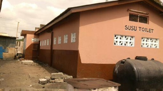 NPP's Invisible Forces Take over Susu Toilet