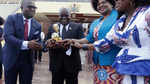 AFRIMA 2018; AU UNVEILS CALENDAR IN ACCRA  …PRESIDENT NANA AKUFO-ADDO EMBRACES AFRIMA